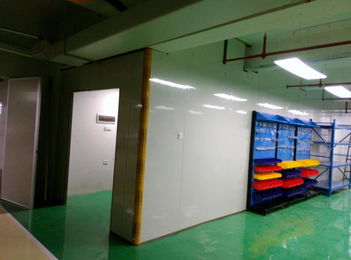 —— 广东顺德工业设计研究院光学实验室净化建设 ——