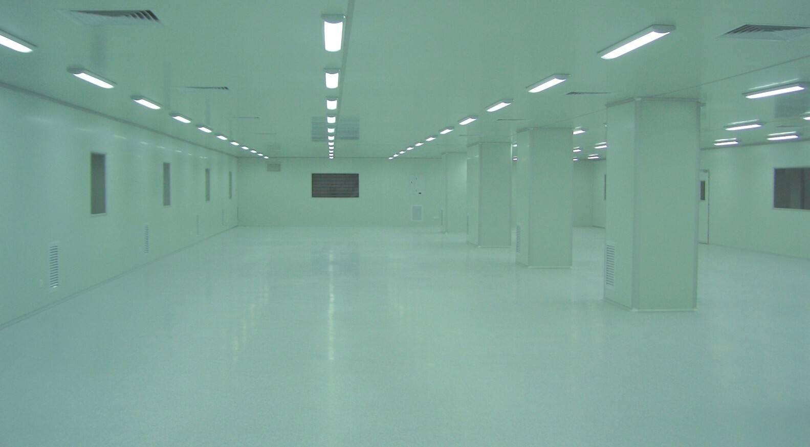 微电子与工程_富士康无尘室机电安装工程——美克威尔无尘室工程案例
