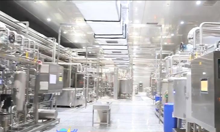 中沃5#厂房无菌灌装饮料车间净化系统装修工程