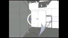 洁净室平面三维效果视频