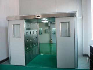 自动感应门货淋室