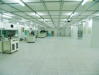 光学微电子净化车间工程案例