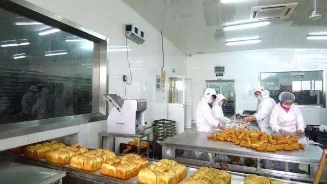 食品烘培面包十万级净化车间装修工程