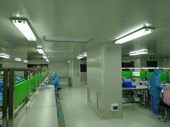 光隆光电万级&千级净化车间设计施工