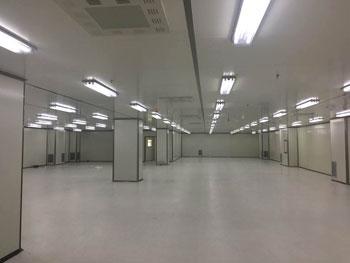 宇隆光电SMT车间装修设计与施工