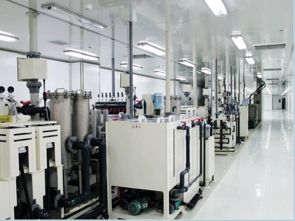 LED电子行业华灿光电净化工程